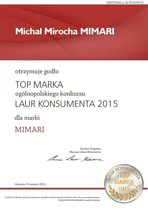 TOP MARKA DYPLOM DLA MIMARI